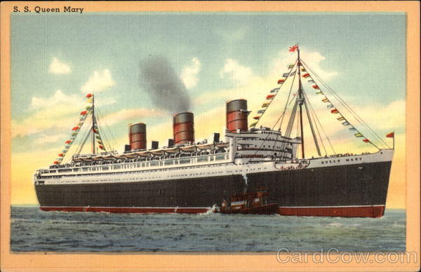 S.S. Queen Mary Cruise Ships
