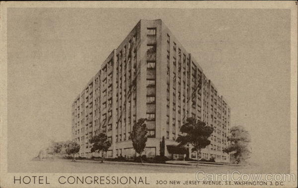 Hotel Congressional, 300 New Jersey Avenue S.E Washington District of Columbia
