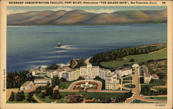 Veterans' Administration Facility, Fort Miley San Francisco California