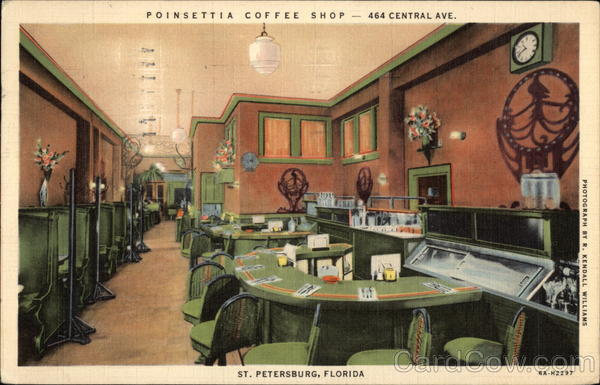 Poinsettia Coffee Shop St. Petersburg Florida