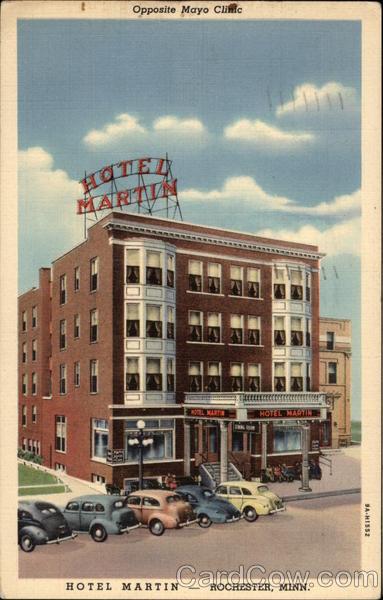 Hotel Martin Rochester Minnesota