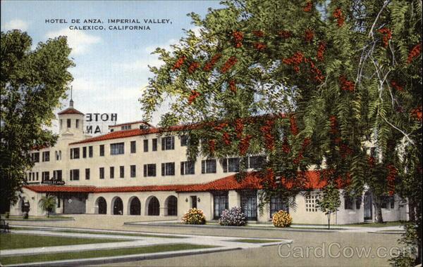 Hotel de Anza, Imperial Valley
