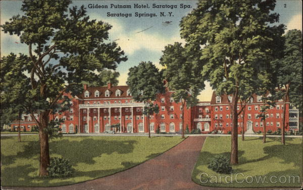Gideon putnam hotel saratoga spa saratoga springs ny for Hotels saratoga springs new york