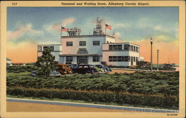 Terminal and Waiting Room, Allegheny County Airport Pittsburgh Pennsylvania