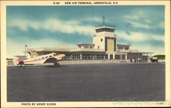 Air Terminal Greenville South Carolina