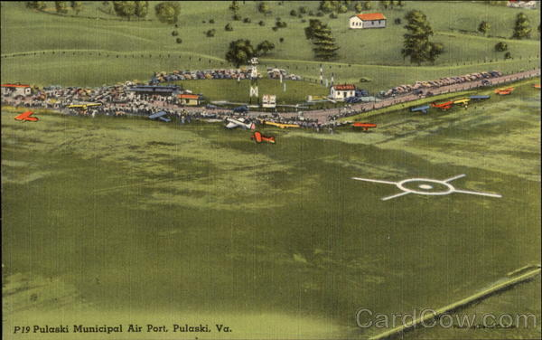 Pulaski Municipal Air Port Virginia