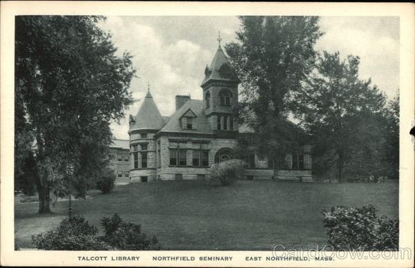 Northfield Seminary - Talcott Library East Northfield Massachusetts