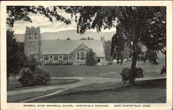 Russel Sage Memorial Chapel, Northfield Seminary East Northfield Massachusetts