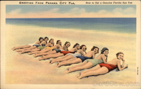 How To Get A Genuine Florida Sun Tan Panama City Swimsuits & Pinup