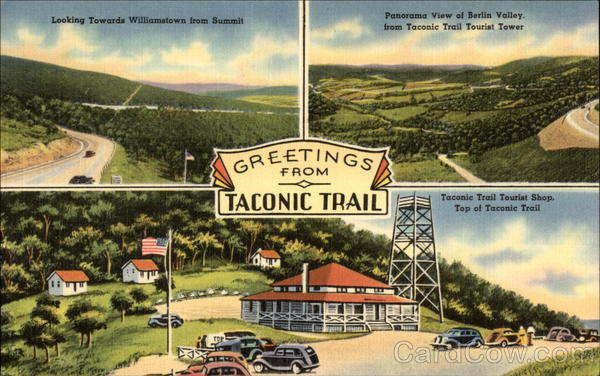 Greetings from Taconic Trail North Adams Massachusetts