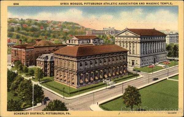 Syria Mosque, Pittsburgh Athletic Association and Masonic Temple Pennsylvania