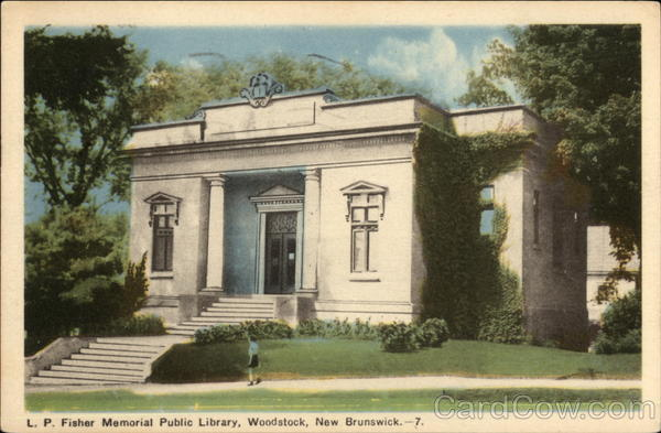 L.P. Fisher Memorial Public Library Woodstock Canada