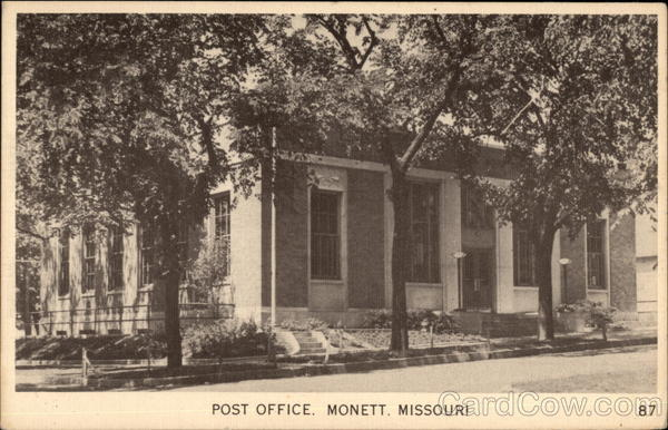 Post Office Monett Missouri