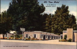 "Mt. Tom Motel ""In the Heart of the High Sierras"""
