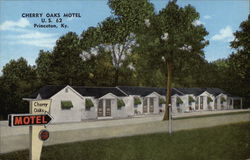 Cherry Oaks Motel Postcard