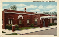 The American Legion Club in French Lick, Indiana