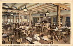 Coffee Shop, Bright Angel Lodge, Grand Canyon National Park, Arizona