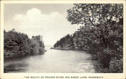 The Mouth of Prairie River, Big Sandy Lake