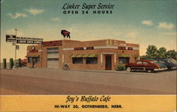 Linker Super Service; Joy's Buffalo Cafe