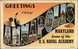 Greetings from Annapolic Maryland home of the U.S. Naval Academy
