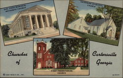 Churches of Cartersville Georgia