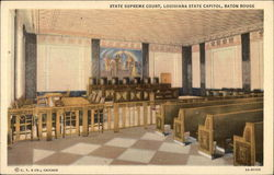 State Supreme Court, Louisiana State Capitol