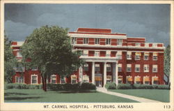 Mt. Carmel Hospital Postcard