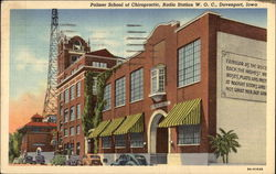 Palmer School of Chiropractic and Radio Station W.O.C
