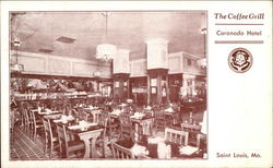 Coronado Hotel - The Coffee Grill Postcard