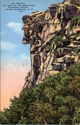 The Profile, Old Man of the Mountains, Franconia Notch, White Mountains