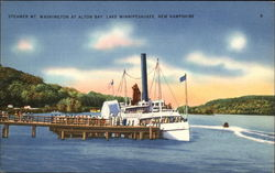 Steamer Mt. Washington at Alton Bay