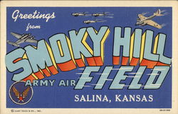 Greetings from Smoky Hill Army Air Field