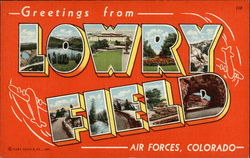 Greetings from Lowry Field Air Forces