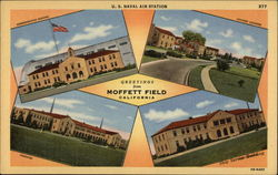 US Naval Air Station, Greetings from Moffett Field