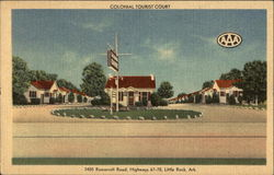 Colonial Tourist Court, 1405 Roosevelt Road, Highways 67-70