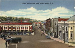 Green Square and Main Street