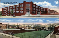 High School and Stadium