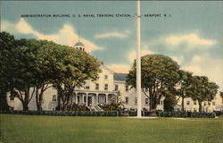 Administration Building, US Naval Training Center