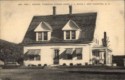 Mrs. Fred L. George, Thornton Corner Lodge, U.S. Route 3