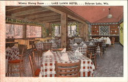 Winter Dining Room, Lake Lawn Hotel