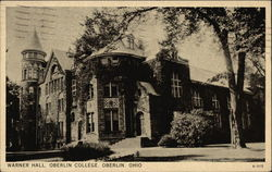 Oberlin College - Warner Hall