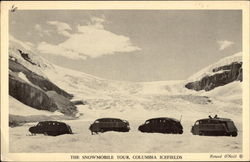 The Snowmobile Tour, Columbia Icefields