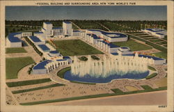 Federal Building and Surrounding Area, New York World's Fair