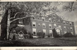 Melrose Hall at William Jewell College in Liberty, Missouri Postcard
