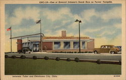 One of Howard Johnson's Snack Bars on Turner Turnpike
