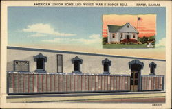 American Legion Home and World War II Honor Roll