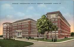 Veterans' Administration Facility Hospital Postcard