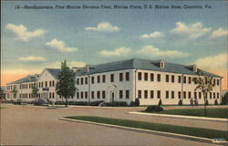 Headquarters, First Marine Division Fleet, Marine Force, U.S. Marine Base