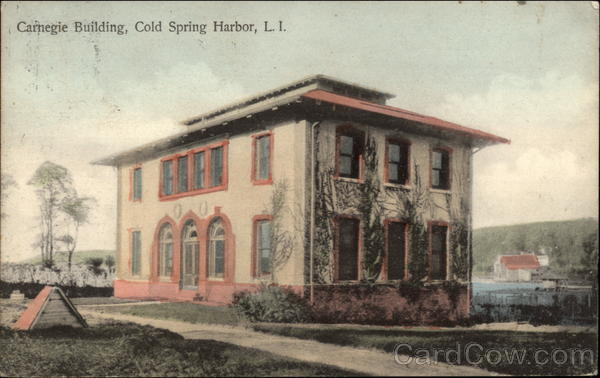 Carnegie Building, L.I Cold Spring Harbor New York