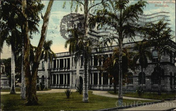 Judiciary Building Honolulu Hawaii